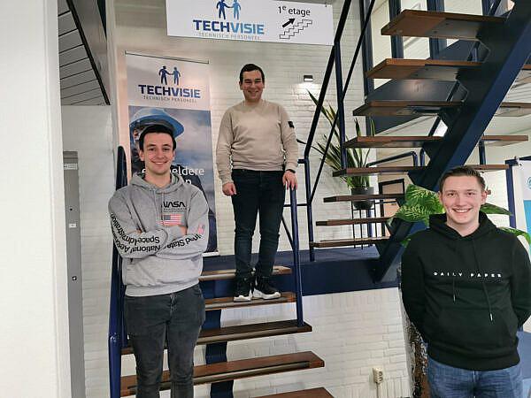 Stage lopen bij Techvisie: lees de ervaring van Laurens, Quinten en Thom